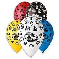 Nafukovací balónky, 30cm, auta, mix barev, 5ks - Balonky