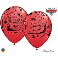 Nafukovací balónky, 30cm, Cars červené, 6ks - Balonky