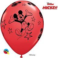 Nafukovací balónky, 30cm, červená, Myšák Mickey, 6ks - Balonky