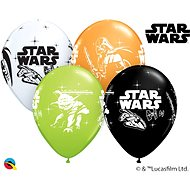 Inflatable Balloons, 30cm, Star Wars, Mixed Colours, 6 pcs - Balloons
