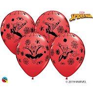 Nafukovací balónky, 30cm, Spiderman, červené, 6ks - Balonky