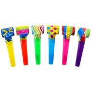 Párty frkačky, papírové, mix barev, 6 ks - Party doplňky