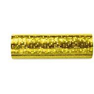 Serpentýny holografické, 3,8m, zlaté, 18ks - Party doplňky