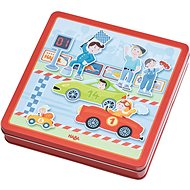 Haba Magnetická hra Závodní auto - Vzdělávací hračka