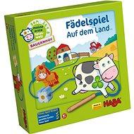 Haba Navlékání kostiček Farma - Vzdělávací hračka