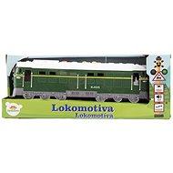Lokomotiva zelená - Auto