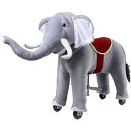 Mechanický jezdící slon Ponnie Bimbo S Profi - Jezdící kůň