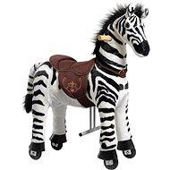 Mechanická jezdící zebra Ponnie Dixi S - Jezdící kůň