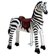 Mechanická jezdící zebra Ponnie Dixi XL Profi - Jezdící kůň