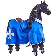 Obleček pro koníka Ponnie M modrý - Jezdící kůň