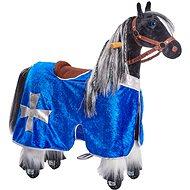 Obleček pro koníka Ponnie S modrý  - Jezdící kůň