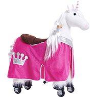 Obleček pro koníka Ponnie S růžový - Jezdící kůň