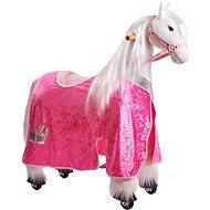 Obleček pro koníka Ponnie M růžový - Jezdící kůň