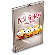 Desky na sešity MFP box A5 Smile - Školní desky