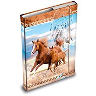 Desky na sešity MFP box A4 Kůň - Školní desky