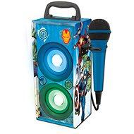 Lexibook Avengers Mini Hifi věž s mikrofonem Bluetooth - Hudební hračka
