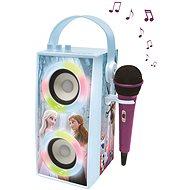 Lexibook Frozen Přenosný Bluetooth reproduktor s mikrofonem a světelnými efekty  - Hudební hračka