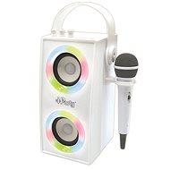Lexibook iParty Přenosný Bluetooth reproduktor s mikrofonem a světelnými efekty  - Hudební hračka