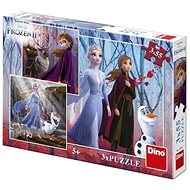 Frozen II 3X55 Puzzle Nové