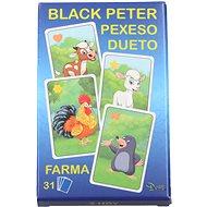 Černý Petr farma - Karetní hra