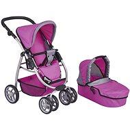 Stroller for dolls - deep 2in1 - Doll Stroller