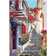 Malování podle čísel - Španělská ulička - Malování podle čísel