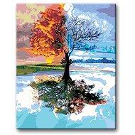 Malování podle čísel - Čtvero ročních období