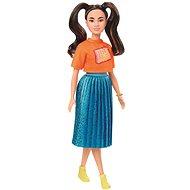 Barbie modelka - zářivé šaty - Panenka