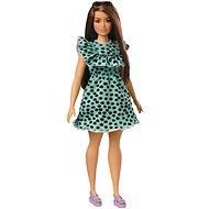 Barbie modelka - šaty s puntíky - Panenka