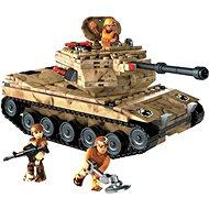 Stavebnice Mega Bloks Vojenský tank - Stavebnice