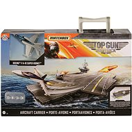 Letadlo pro děti Matchbox Top gun letadlová loď