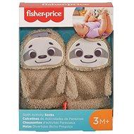 Fisher-Price Ponožky lenochod - Hračka pro nejmenší