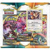 Pokémon TCG: SWSH03 Darkness Ablaze - 3 Blister Booster - Karetní hra