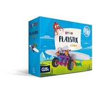 Kvído - Stavebnice Playstix - letadlo 26 dílků - Vědomostní hra