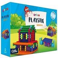 Vědomostní hra Kvído - Stavebnice Playstix - domečky 150 dílků