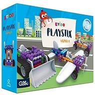 Vědomostní hra Kvído - Stavebnice Playstix - vozidla 146 dílků