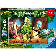 Ravensburger 051250 Gigantosaurus 2x12 dílků