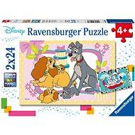 Ravensburger  050871 Disney pohádky 2x24 dílků