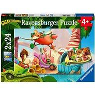 Ravensburger 051267 Gigantosaurus 2x24 dílků