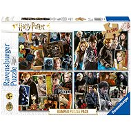 Puzzle Ravensburger  068326 Harry Potter set 4x100 dílků - Puzzle