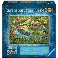 Ravensburger 129249 Exit KIDS Jigsaw Puzzle: Jungle 368 Pieces - Puzzle
