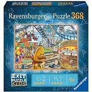 Ravensburger 129263 Exit KIDS Puzzle: Amusement Park 368 pieces - Puzzle
