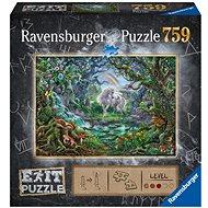 Ravensburger  150304 Exit Puzzle: Jednorožec 759 dílků - Puzzle