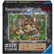 Ravensburger  164837 Exit Puzzle: Skleník 368 dílků - Puzzle
