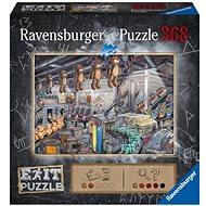 Ravensburger  164844 Exit Puzzle: V továrně na hračky 368 dílků - Puzzle