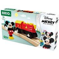 Brio World 32265 Vlak na baterie Myšáka Mickeyho  - Vláčkodráha