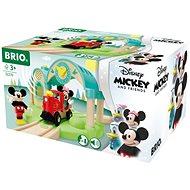 Brio World 32270 Nádraží Myšáka Mickeyho s nahráváním zvuku  - Vláčkodráha