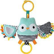 Vibrující sovička s mávajícími křídly - Závěsná hračka