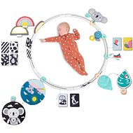 Playing circle with All Around Me activities