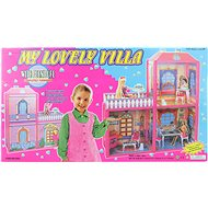 Domek pro panenky menší - Domeček pro panenky